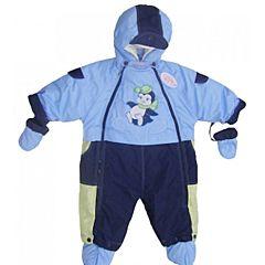 Комбинезон-трансформер Little People на меху Малыш (голубой)