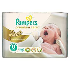 Подгузники Pampers Premium Care New Baby (1-2.5 кг) 30 шт