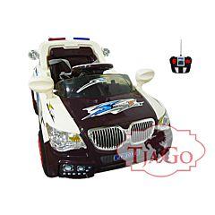 Электромобиль TjaGo BMW Police 20X8-Yj надув с пультом управления (коричневый)