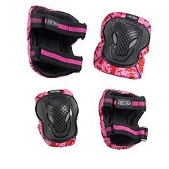 Комплект защиты 2 в 1 Micro (розовый)