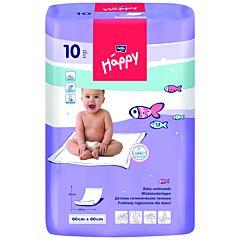 Пелёнки одноразовые Bella Baby Happy 60х60см (10 шт)