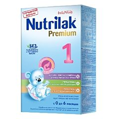 Сухая молочная смесь Nutrilak Premium 1 (0-6 мес.) 350 г