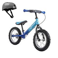 Беговел Lionelo Dex Plus со шлемом безопасности (Голубой)