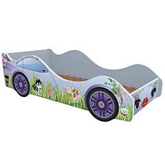 Кровать-машина Кроватка5 Машинки (Собачки)