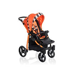 Коляска прогулочная Lonex Sport (черно-оранжевая)