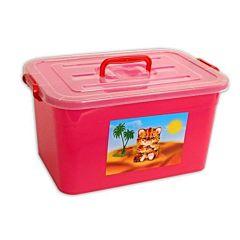 Ящик для хранения игрушек Полимербыт Радуга
