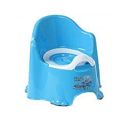 Горшок Dunya Plastik Комфорт (Голубой)