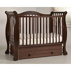 Кроватка детская Гандылян Габриэлла (универсальный маятник) (махагон)
