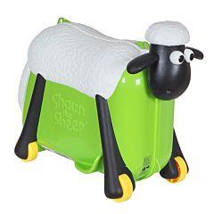 Каталка-чемодан Saipo Овечка (зеленая)