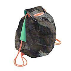 Мешок под обувь Манюни Всёвлезайка (камуфляж с зеленым)