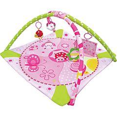 Развивающий коврик Balio (розовый)