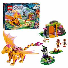 Конструктор Lego Elves 41175 Эльфы Лавовая пещера Дракона огня