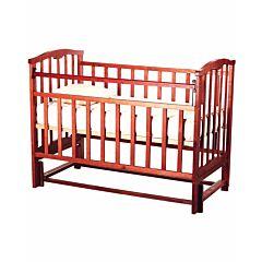 Кроватка детская Агат Золушка-5 (продольный маятник) (Вишня)