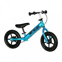 Беговел FunKids Swift Ballance облегченный с ПВХ колесами (голубой)
