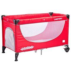 Манеж-кровать Caretero Simplo (красный)
