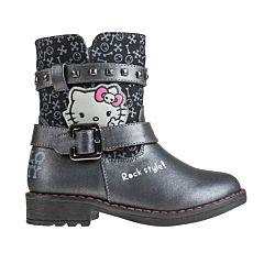 Сапоги детские Hello Kitty 5588A для девочек (черные)