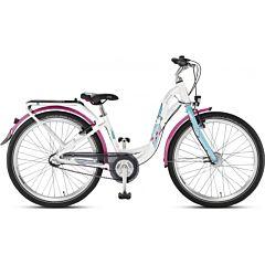 """Подростковый велосипед Puky Skyride 24-7 Alu Active light 24"""" (white/turquoise)"""