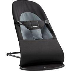 Кресло-шезлонг BabyBjorn Balance Soft (Черный с серым)