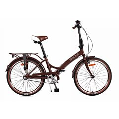 Велосипед складной Shulz Krabi Coaster (2017) коричневый