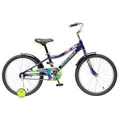 """Детский велосипед Novatrack Cron 20"""" (2016) синий"""