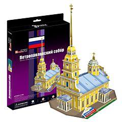 Игрушка CubicFun Петропавловский собор (Россия)