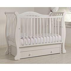 Кроватка детская Гандылян Габриэлла (универсальный маятник) (белый)