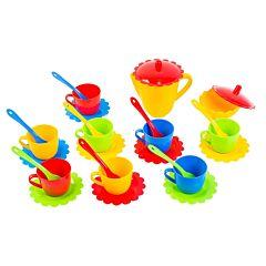 Набор посуды Тигрес Ромашка 28 элементов