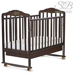 Кроватка-качалка Sweet Baby Paolo Wenge