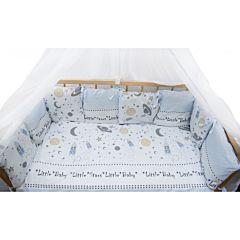 Комплект постельного белья из сатина AmaroBaby (18 предметов) Little Star
