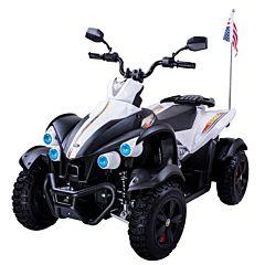Электроквадроцикл Dongma ATV White