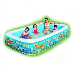 Надувной бассейн BestWay 54121BW Подводный Мир 1161 л