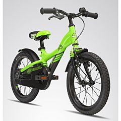 "Велосипед S'cool XXlite 16"" (2016) зеленый"