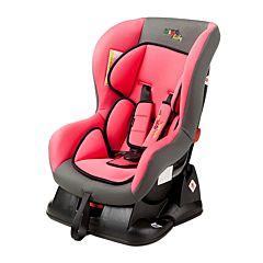 Автокресло Liko Baby LB-702 (розовый/серый)