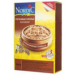 Каша Nordic гречневые хлопья 550 г