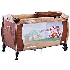 Манеж-кровать Caretero Medio (бежевый)