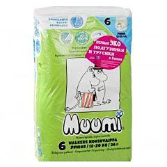 Трусики-подгузники MiniMax Muumi Baby Junior (12-20 кг) 36 шт.