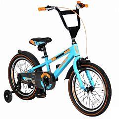 "Детский велосипед Velolider Rush Sport 18"" Бирюзовый"