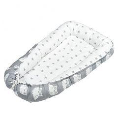 Кокон-гнездо для сна Sweet Baby Grigio