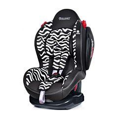 Автокресло Welldon Smart Sport SideArmor & CuddleMe Zebra