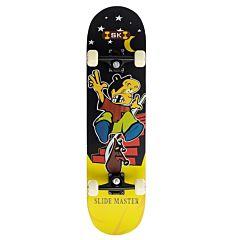 "Скейтборд 31"" TechTeam Evo (черно-желтый)"
