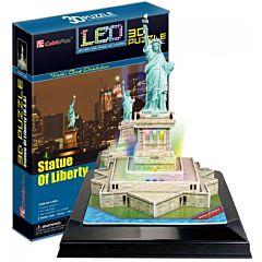 Игрушка CubicFun Статуя Свободы с иллюминацией (США)