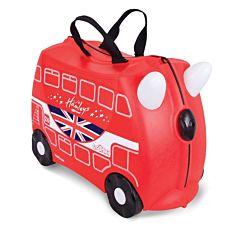 Каталка-чемодан с наклейками Trunki Hamleys Автобус