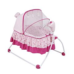 Электрокачели Pituso колыбель Vitoria (розовый)