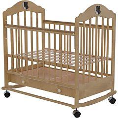 Кроватка детская Briciola 7 (качалка-колесо) (светлая)