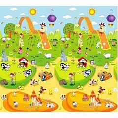 Развивающий коврик Babypol Веселая ферма 180х150см