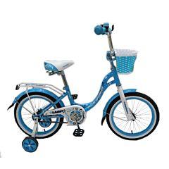 """Детский велосипед Nameless Lady 20"""" (бирюзовый)"""