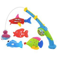 Набор игрушек для купания S+S Toys Весёлая рыбалка