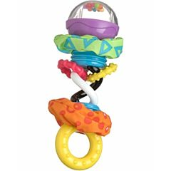 Прорезыватель-погремушка Playgro Забавные шарики