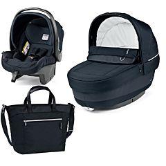 Комплект для коляски Peg-Perego (тёмно-синий)