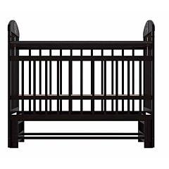 Кроватка детская Briciola 9 с продольным маятником (темная)